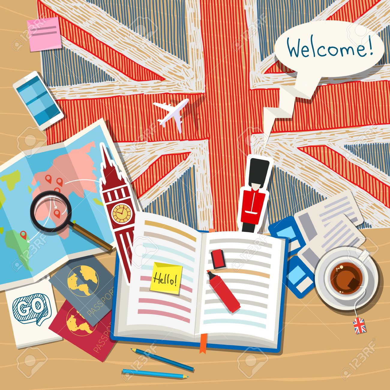 Travel English course for your trips and holidays!