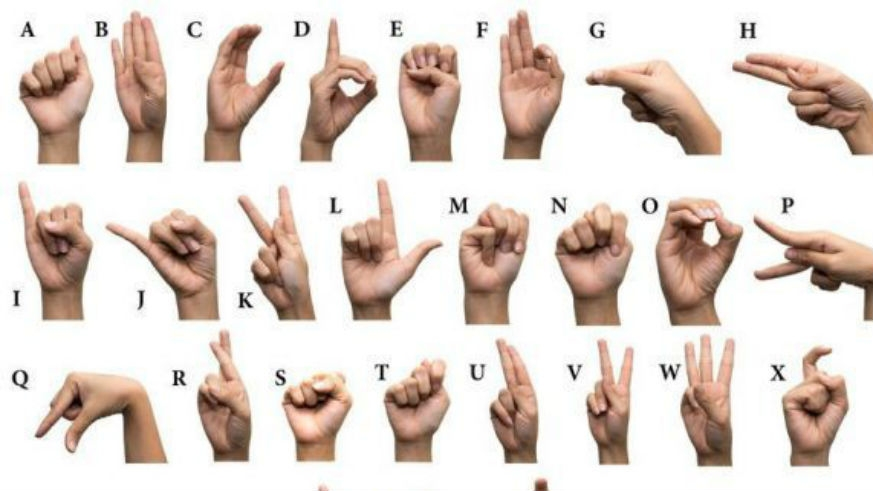 English for the deaf and hard of hearing