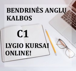 C1 GENERAL ENGLISH COURSES ONLINE FROM 04.08